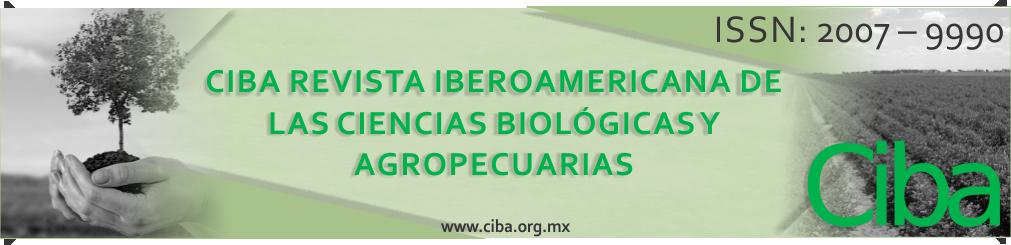 Revista Iberoamericana de las Ciencias Biológicas y Agropecuarias